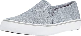 Keds Double Decker Stripe Jersey Grey Size: 5.5 UK