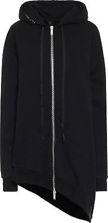 Unravel Asymmetric cotton hoodie