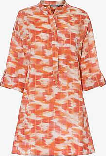 Three Graces London Ira Dress in Abstract Ikat