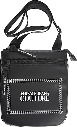 Versace Jeans Couture Weekender Duffel Bag for Men, Black, Nylon, 2017, one size