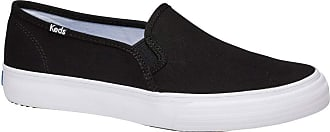 Keds Womens Double Decker Canvas SMU Sneaker, Black