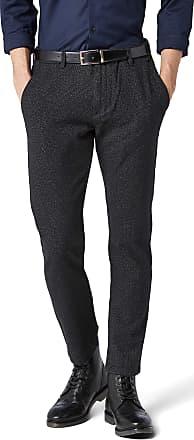 Selected Homme Mens Shharval Black Struc Slim Pants STS Trouser, W34/L34 (Size: 34)
