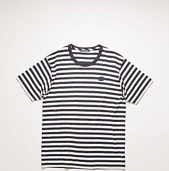 Acne Studios FA-UX-TSHI000044 Navy blue Classic fit striped t-shirt