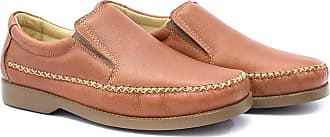 Di Lopes Shoes Sapato antistres Floater 100% Couro (42, Pinhão)
