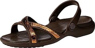 bc22b749b4e17 Crocs Womens Meleen Metaltext Xband Sandal W Open Toe