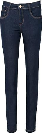 Morena Rosa Calça Jeans Morena Rosa Skinny Andreia Azul-Marinho