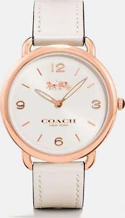Coach Delancey Slim Watch, 36mm in White - Size WMN