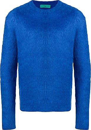 Paura Suéter de tricô com textura - Azul