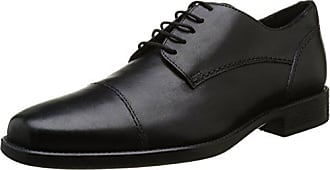 Geox Mens Federico 16 Oxford, Black, 43 M EU (10 US)