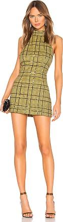 NBD Kent Mini Dress in Yellow