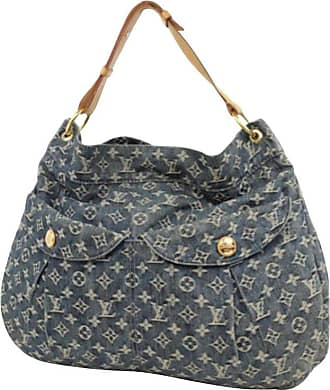Louis Vuitton Monogram Denim Gm Hobo 225679 Blue Coated Canvas Shoulder Bag 4579bc1a50d59