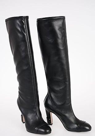Stuart Weitzman 10cm Leather CARTER Boots size 38,5