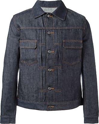 A.P.C. Jaqueta jeans clássica - Azul