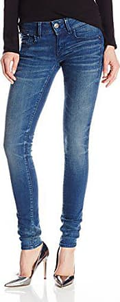 G-Star Womens Lynn Mid Rise Skinny Fit Jean in Frakto Superstretch, Medium Aged, 32
