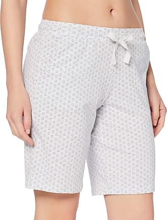 Schiesser Womens Mix & Relax Jerseybermuda Pyjama Bottoms, Grey (Grey Blend 202), 36 (Size: 036)