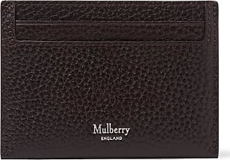 Mulberry Full-grain Leather Cardholder - Dark brown