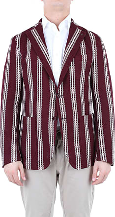 Tagliatore Blazer Burgundy turtledove and white