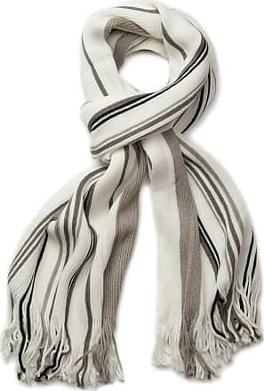 styleBREAKER Men scarf with sophisticated herringbone print and fringing winter scarf shawl 01017088