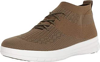 0a3ee2c979ba FitFlop Uberknit Slip-On High Top Sneaker Collo Alto Uomo