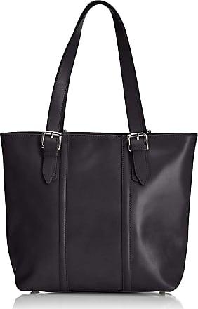 Chicca Borse Handbag leather womans shoulder 34 x 30 x 11 cm - mod. Miriana