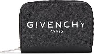 Givenchy Carteira com logo e zíper - Preto