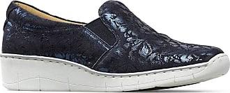 Van Dal Womens Ripple Wedge Heeled Slip-On Loafers 3017450 6.5 UK