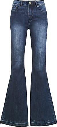e47f37387 Amapô Calça jeans Super flare Lille - Azul