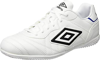 Umbro Speciali Eternal Club IC - Boot for Men, Men, Speciali Eternal Club Ic, White/Black/Clematis Blue, 8.5