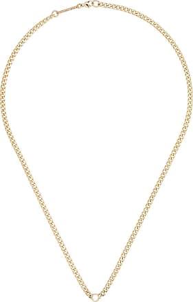 Zoë Chicco Colar de ouro 14k com diamante - YELLOW GOLD