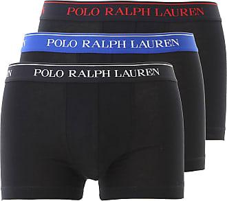 Ralph Lauren Caleçon Boxer Homme, Boxer Pas cher en Soldes, 3 Pack, Noir 3bf10d11552
