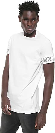 Doc Dog Camiseta Doc Dog Estampada Branca