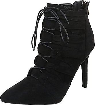 83231bc74c53 Ital-Design Damen Schuhe, JA79-, Stiefeletten, HIGH Heels Boots, Synthetik