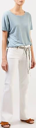 Cambio Bootcut Jeans Tess Wide Leg Weiß