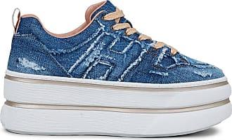 Hogan Sneakers H449, BLU, 37.5 - Scarpe