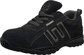Groundwork Gr86, Unisex Adults Safety Trainers, Black/Grey, 10 UK (44 EU)