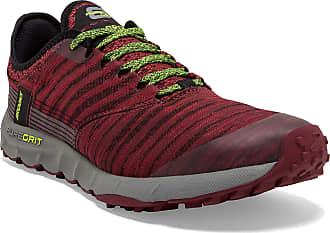 Brooks Mens Puregrit 8 Running shoe, Red (Núcleo Negro/Gris Six/Ftwr Blanco), 11.5 UK (46.5 EU)