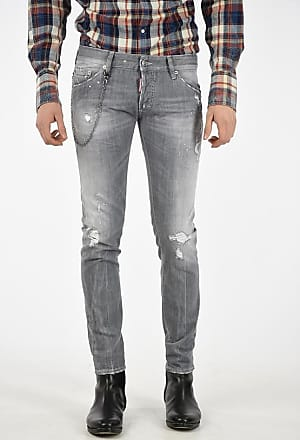 Dsquared2 Jeans CLEMENT in Denim Stretch 16cm taglia 44 4c79103be3db