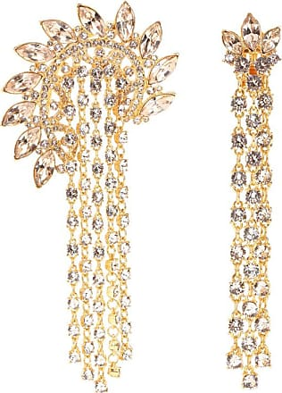 Oscar De La Renta Embellished clip-on earrings