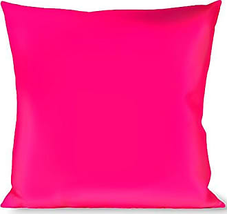 Buckle Down Pillow Decorative Throw Neon Pink Print