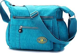 GFM Nylon Water Resistant Cross Body Bag (88)(1503-TXNL)
