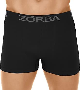 Zorba Cueca Boxer Seamless Trendy, Zorba, Masculino, Preto, GG