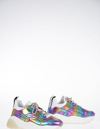 Stella McCartney Faux Leather Printed Sneakers size 36