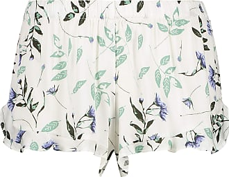 Hunkemöller Woven Pyjama Shorts White M