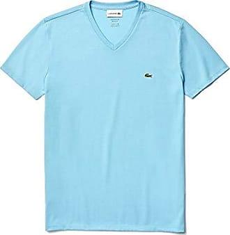 Lacoste Mens S//S Striped Light Jersey Pima Cotton T-Shirt