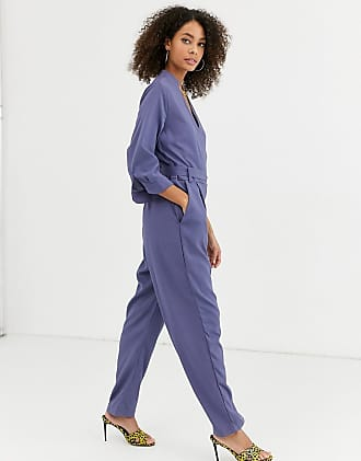 Urban Bliss lola utility jumpsuit-Blue