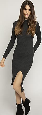 BCBGeneration Mock Neck Sweater Dress