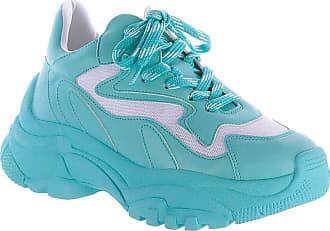 Damannu Shoes Tênis Chunky Yara Azul - Cor: Azul - Tamanho: 35