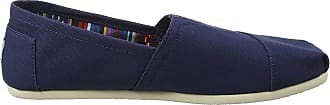 Toms Classic Womens Slip On Shoes in Navy - 5 UK