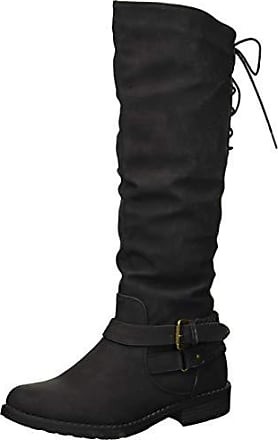 xoxo Womens Middleton Fashion Boot, Black, 8.5 M US
