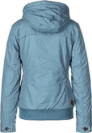 Ragwear Ewok Minidots Jacket Light Blue Damen Jacke Winterjacke Blau